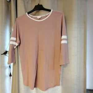 Pink lularoe shirt